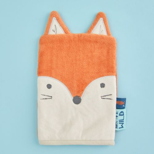 Fox Bath Mitt