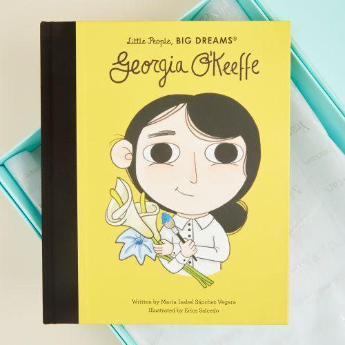 Personalised Little People, Big Dreams Georgia O'Keeffe Book