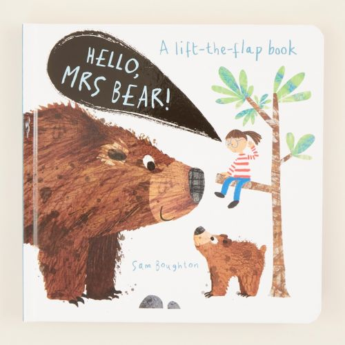 Hello! Mrs Bear Board Book