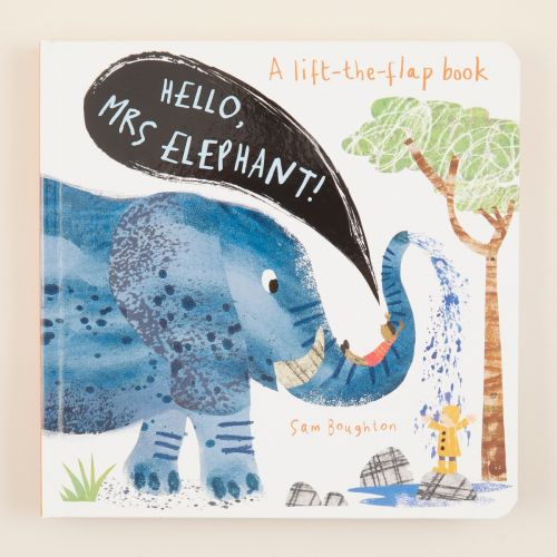 Hello! Mrs Elephant Board Book