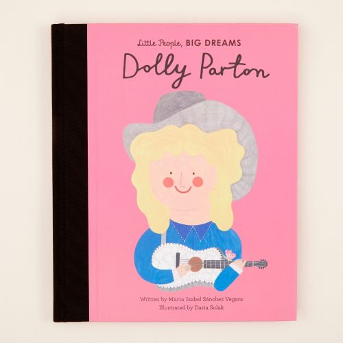 Personalised Little People Big Dreams Dolly Parton Book