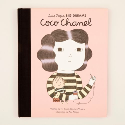 Personalised Little People, Big Dreams Coco Chanel Book