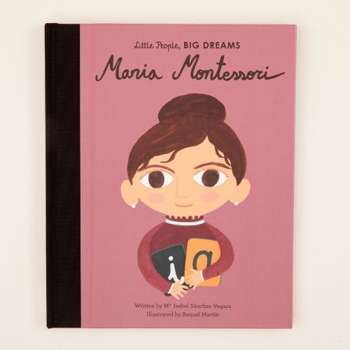 Personalised Little People, Big Dreams Maria Montessori Book