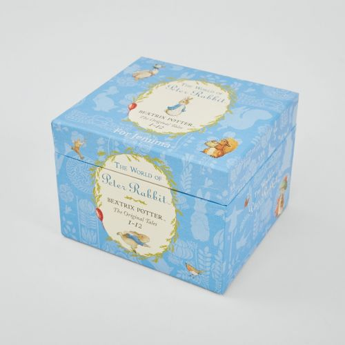Personalised The World of Peter Rabbit 12 Book Gift Box