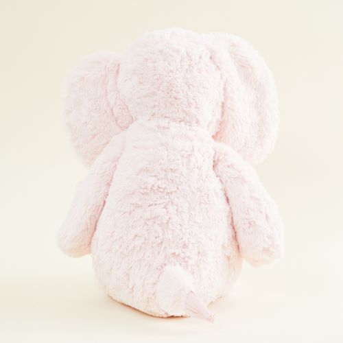 Personalized Large Pink Elephant Stuffed Animal