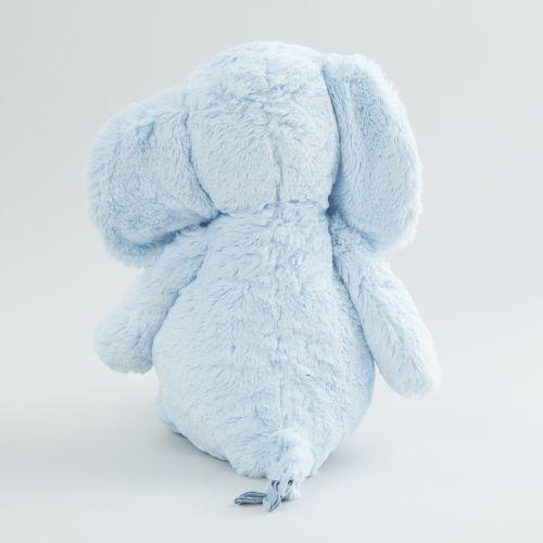 Personalized Large Blue Elephant Stuffed Animal
