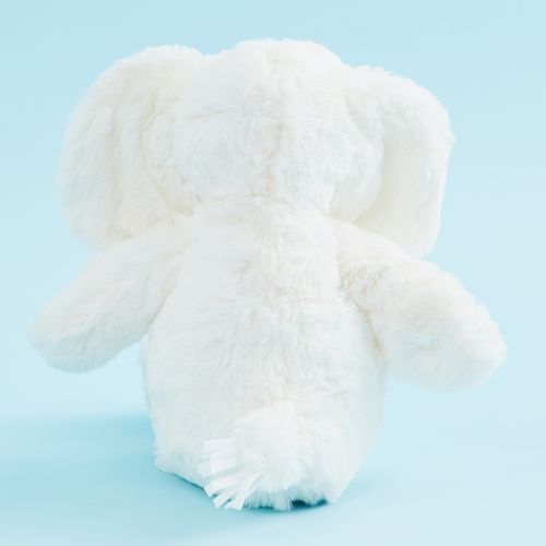 Personalized White Elephant Stuffed Animal