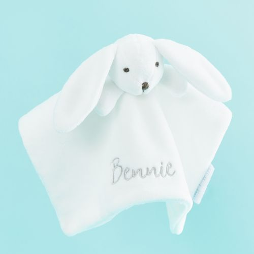 Personalised White Bunny Comforter