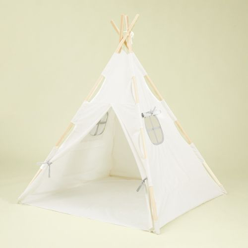Personalised White Children's Teepee Tent