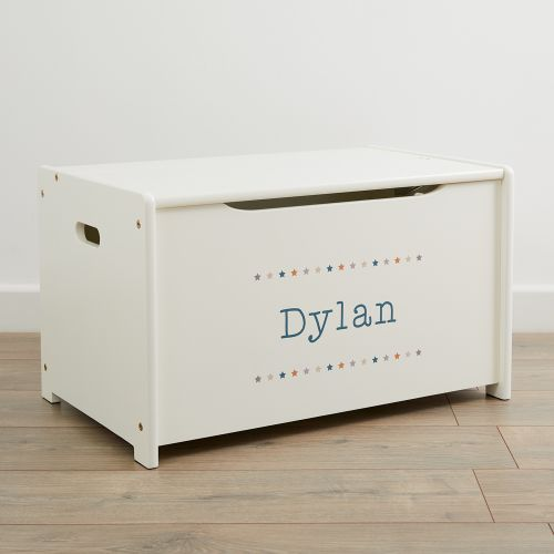 Personalised Star Design Toy Box