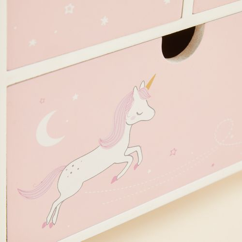 Personalized Pink Fairytale Mini Keepsake Drawers