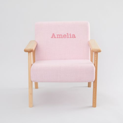 Personalised Pink Children's Arm Chair