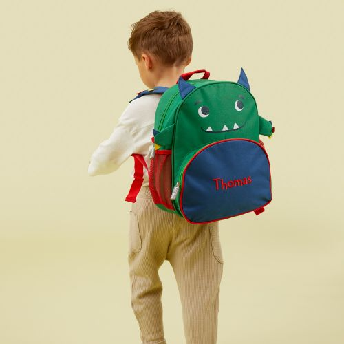 Personalised Monster Infant Backpack Model