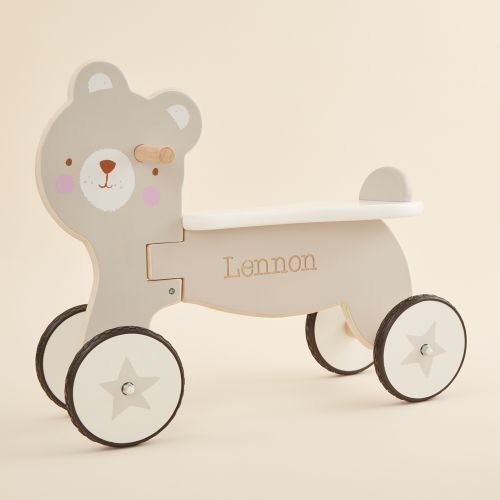 Personalised Grey Bear Trike