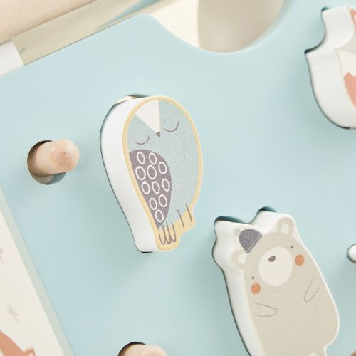 Personalised Woodland Animal Shape Sorter