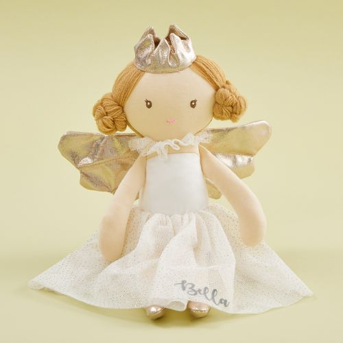 Personalized Angel Soft Doll With Blonde Hair