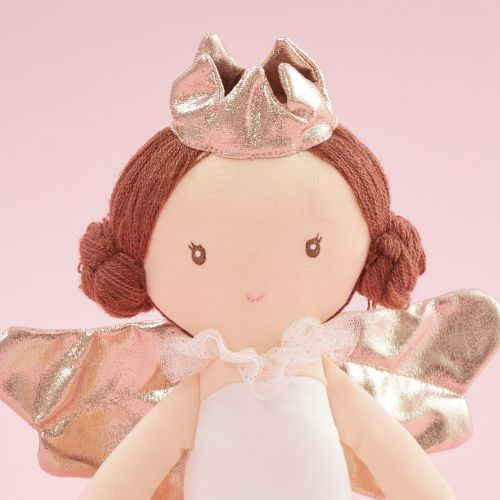 Personalized Angel Soft Doll With Brown Hair