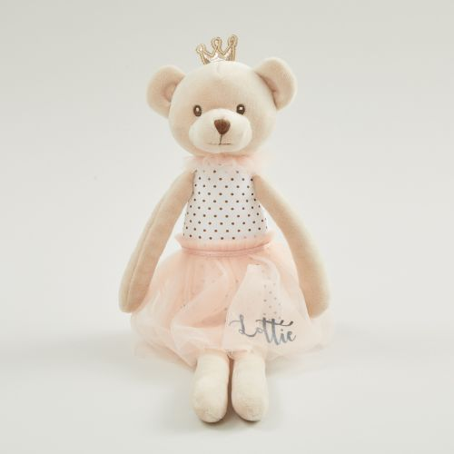 Personalized Princess Bear Soft Doll