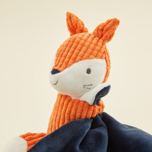 Personalized Mr Fox Textured Lovey