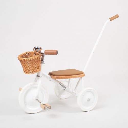 Personalised Banwood Trike in White