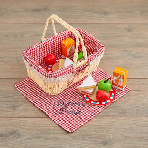 Personalised Picnic Set Toy