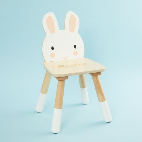 Personalised Rabbit Design Children's Chair