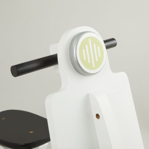 Personalised White Scooter Rocker
