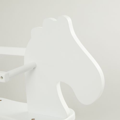 Personalised Childhome White Rocking Horse