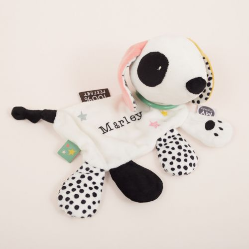 Personalized Mini Mono Patterned Dog Activity Toy