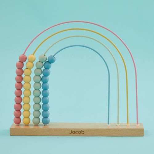 Personalized Wooden Abacus Toy