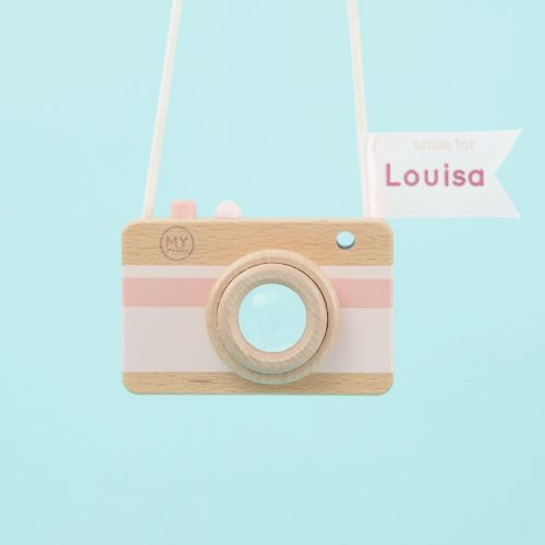 Personalised Pink Children's Camera Toy