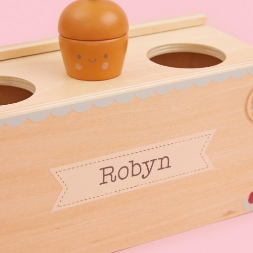 Personalized Wooden Vegetable Patch Play Set
