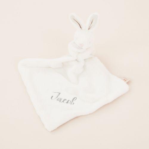 Personalised White Bunny Comforter