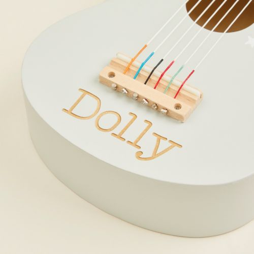 Personalised Colourful Guitar Wooden Toy