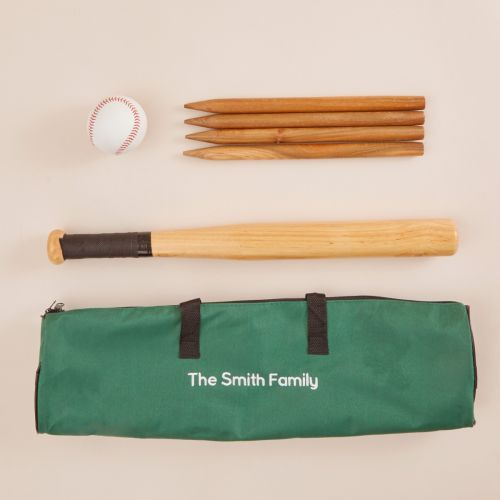 Personalised Traditional Garden Rounders Play Set