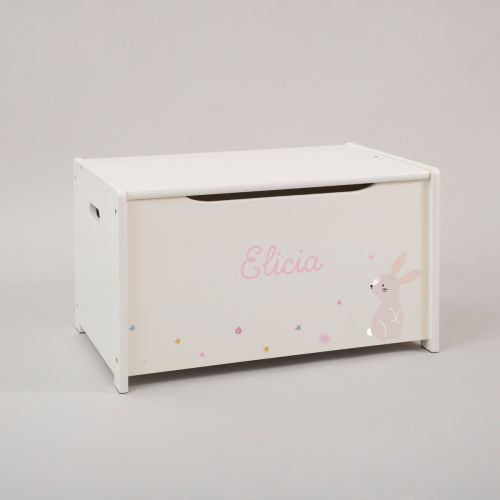 Personalised Woodland Tales Toy Box