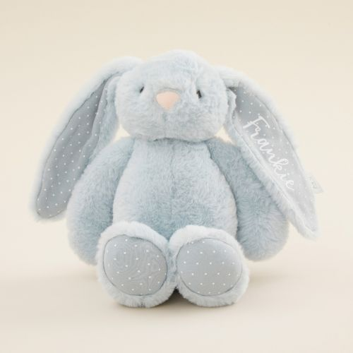 Personalized Blue Bunny Stuffed Animal
