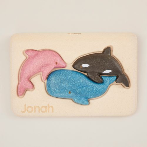 Personalized Plan Toys Sealife Puzzle