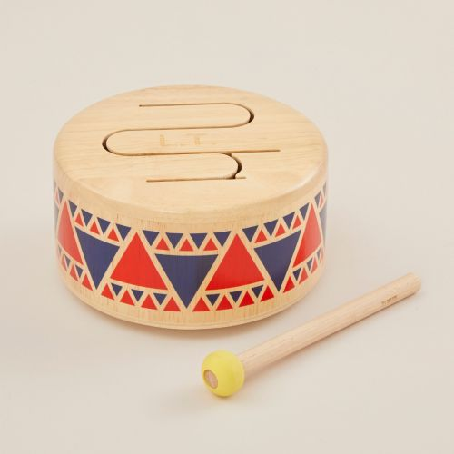 Personalised Plan Toys Wooden Drum Toy