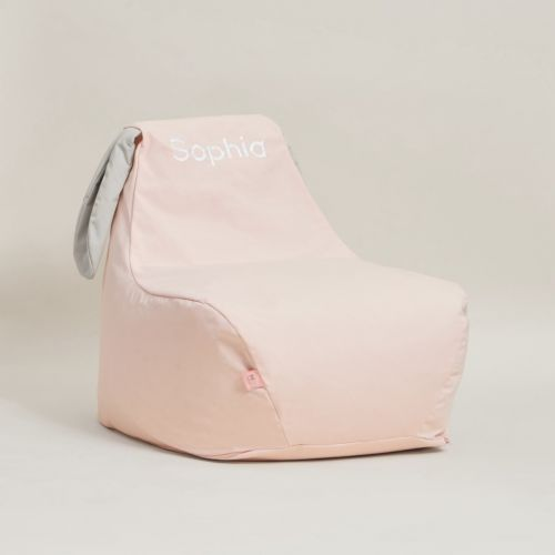 Personalised Pink Bunny Bean Bag