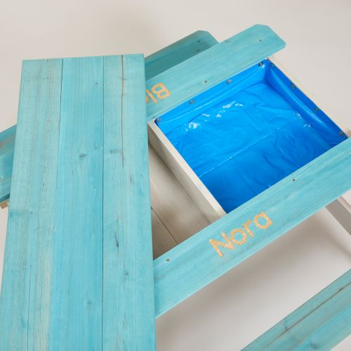 Personalised Plum® Surfside Sand & Water Table [Teal]