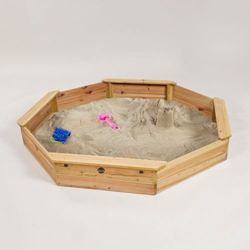 Personalised Plum® Giant Wooden Sand Pit [Natural]