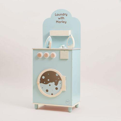 Personalised Washing Machine Wooden Toy
