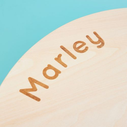 Personalised Wooden Round Children's Activity Table