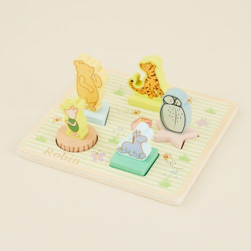 Personalised Winnie The Pooh 3D Puzzle