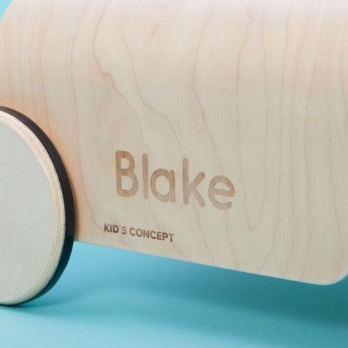 Personalised Wooden Kart Ride On