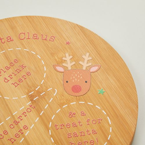 Personalized 'Dear Santa Claus' Christmas Eve Platter