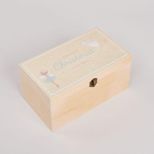 Personalised Festive Fairy Christmas Eve Box