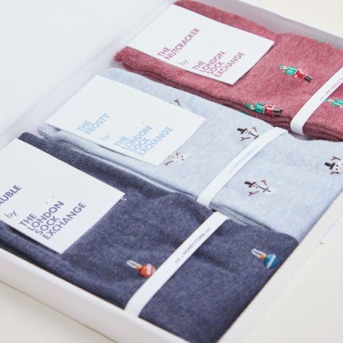 Personalised London Sock Exchange X My 1st Years Christmas Gift Set