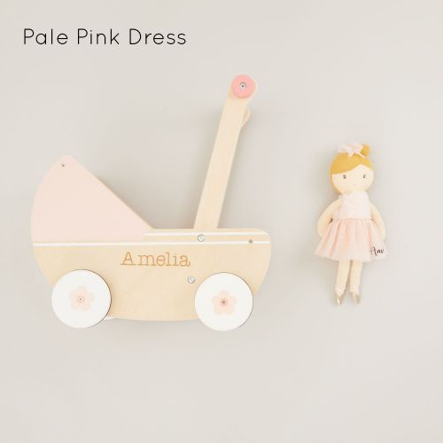 Personalized Stroller and Doll Gift Set